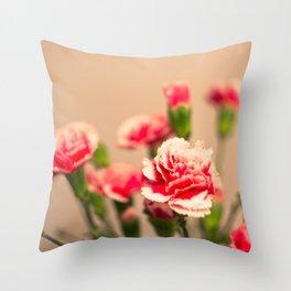 Carnation II Throw Pillow