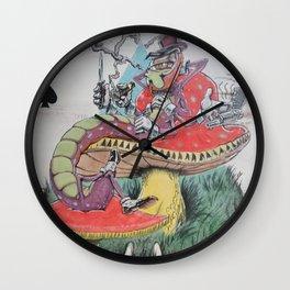 """""""Peel-yocapper"""" Wall Clock"""