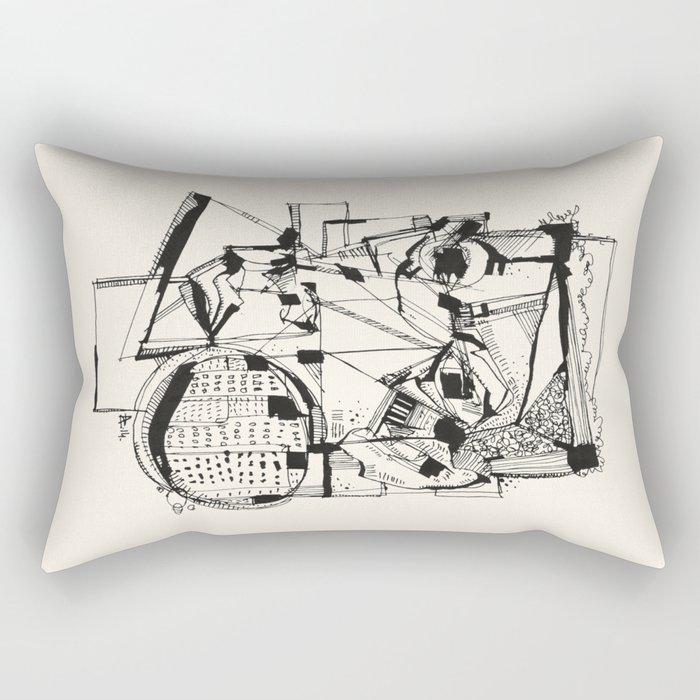 Urbanized Rectangular Pillow