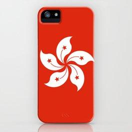 Hong Kong Flag I love HK iPhone Case