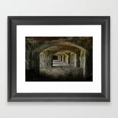 The Tunnels Framed Art Print