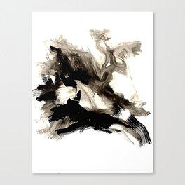 Black + White 1 Canvas Print