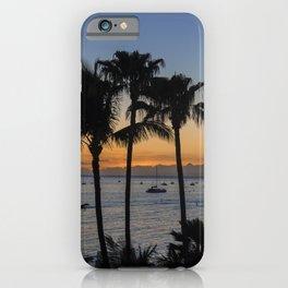 Tropical Paradise Sunset iPhone Case