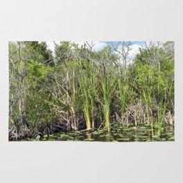 Everglades Near Key Largo Florida Rug