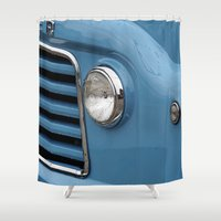 vans Shower Curtains featuring A Taste of Summer #2 by Caroline Benzies Photography