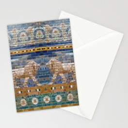 Lion Mosaic  Stationery Cards