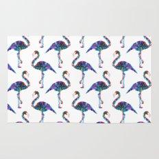 CMYK Flamingo Rug