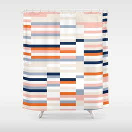 Connecting lines 2. Shower Curtain