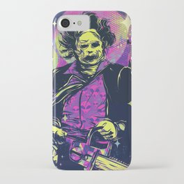 Neon Horror: Leatherface iPhone Case