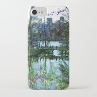 central park iPhone & iPod Cases featuring Central Park  by aLovelyNotion