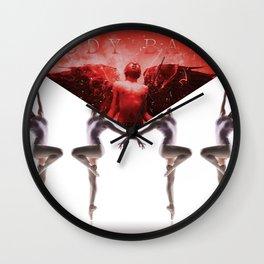 envelope bloody ballet Wall Clock