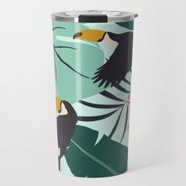 Tropical Summer Travel Mug