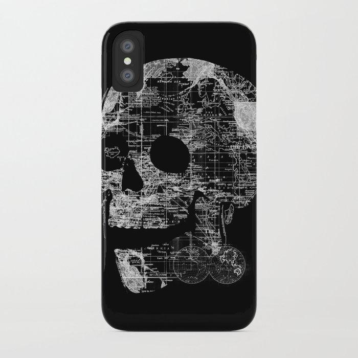 Skull Wanderlust iPhone Case