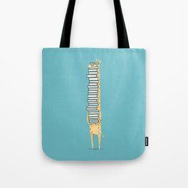 A Book Lover (blue) Tote Bag