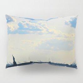 Silhouette Lady Pillow Sham