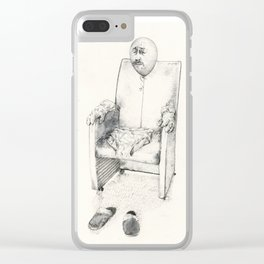 Easy like Sunday morning Clear iPhone Case