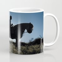 spanish Mugs featuring Spanish Horseman by elmundodehector
