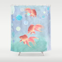 Around the bowl in Eighty seconds Shower Curtain