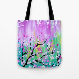 Weathered Cherry Blossom Tote Bag