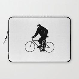 Bigfoot  riding bicycle Laptop Sleeve
