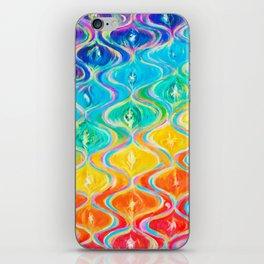kundalini chakra waves iPhone Skin