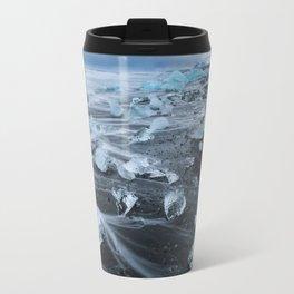 Jokulsarlon Beach - Iceland Print (RR255) Travel Mug