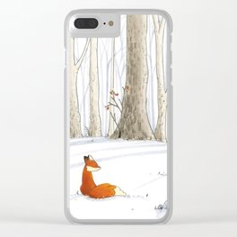 Redfox Clear iPhone Case