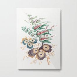 Floral Fantasies, fine art. Metal Print