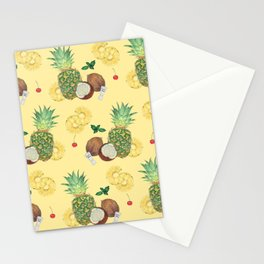 pina colada Stationery Cards
