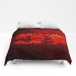 hermit frog Comforters