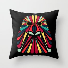 Birds of a Feather - Abstract Render Throw Pillow