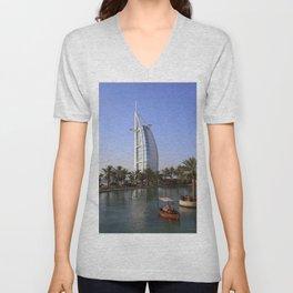 Burj Al Arab, Dubai Unisex V-Neck