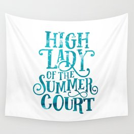 High Lady Summer Court ACOTAR Wall Tapestry