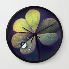 No more tears Wall Clock