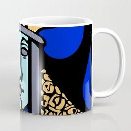 Jugendstil Einfuhrmesse Frankfurt blue Coffee Mug