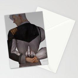 Admiral Shirogane (light background) Stationery Cards
