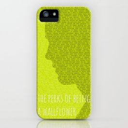 The Perks of Being a Wallflower iPhone Case