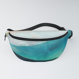 Emerald Jungle Mountains Fanny Pack