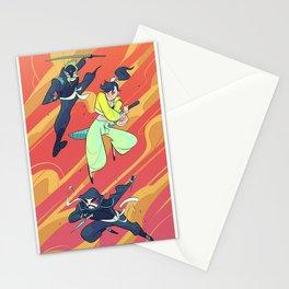 Knife Family Stationery Cards