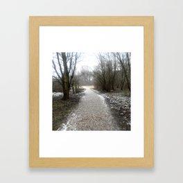 Bare Path  Framed Art Print