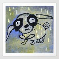 funny creature  Art Print