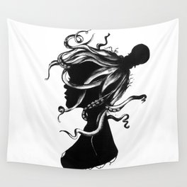 Squindy Silhouette Wall Tapestry