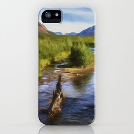 Just Wandering iPhone Case