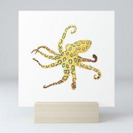Blue-ringed Octopus (Octopussy) Mini Art Print