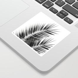 Black Palm Leaves Dream - Cali Summer Vibes #1 #tropical #decor #art #society6 Sticker