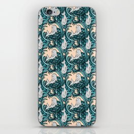 Whales and Waves iPhone Skin