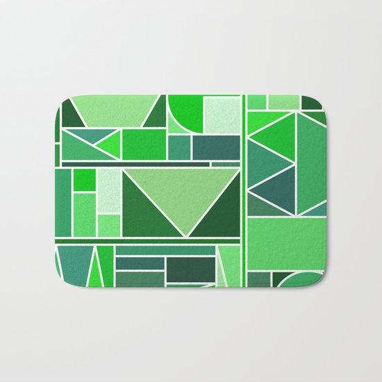 Kaku Green Bath Mat