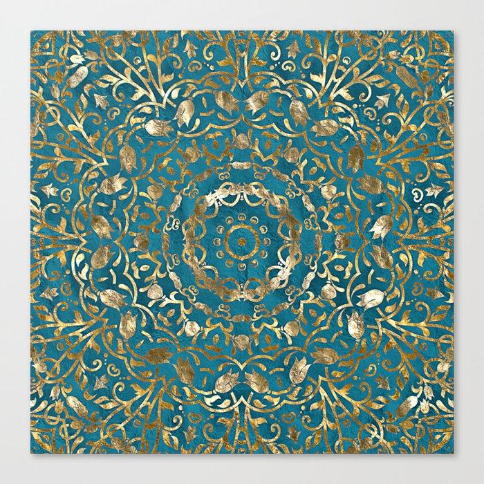 Moroccan Style Mandala Leinwanddruck