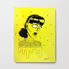 misspaul LADY IRENE Metal Print
