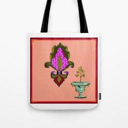 Fleur de Lis Home Decor Tote Bag